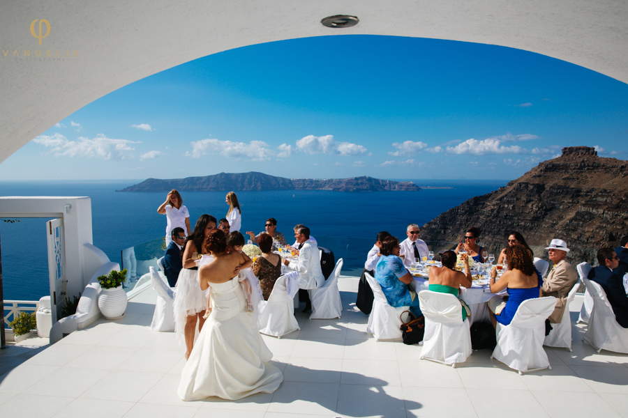 Santorini Weddings By Dana Villas