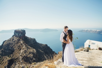 Anna Roussos - Destination Wedding photography - Santorini Photographer Dana villas Wedding Elope (51)
