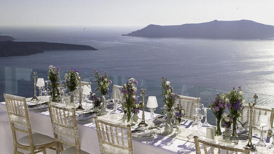 Santorini Weddings By Dana Villas